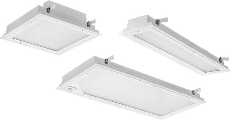 Recessed LED Troffers