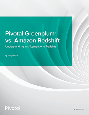Pivotal Greenplum vs Amazon Redshift