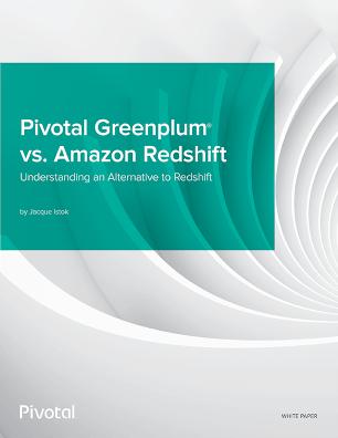 Pivotal Greenplum vs Amazon Redshift