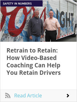 Retrain to Retain: How Video-Based Coaching Can Help You Retain Drivers