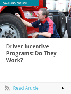 Driver Incentive Programs: Do They Work?