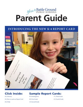 BGPS K-4 Report Card Parent Guide