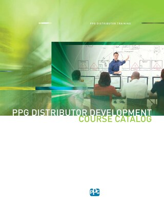 2016 Distributor Training Course Catalog