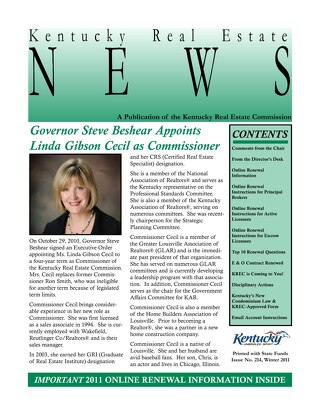 2011 KREC Newsletter 1
