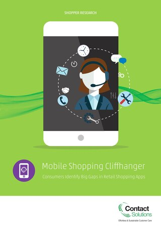 Mobile Shopping Cliffhanger Research Paper