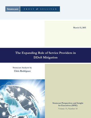 The Expanding Role of Service Providers in DDoS Mitigation