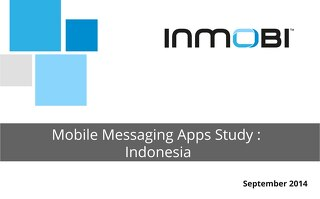 Mobile Messaging Apps Study - Indonesia