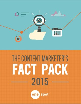 The 2015 Content Marketer's Fact Pack