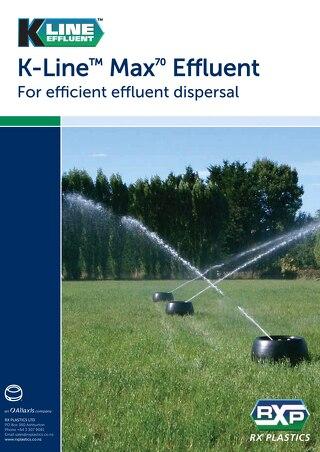K-line Max70 Effluent Brochure