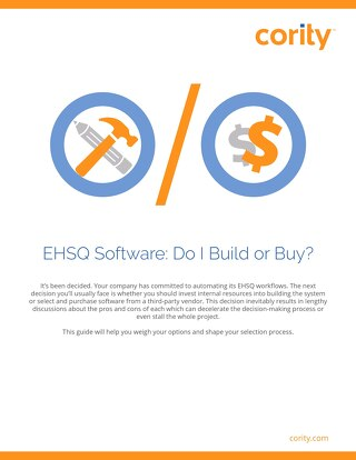 EHS data management systems: Buy or build?