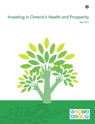 Ontario Advocacy Day May 2015: Investing in Ontario's Health and Prosperity