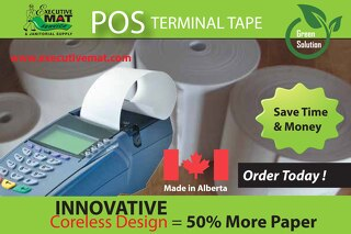 POINT OF SALE PAPER TAPE SUPPLIES