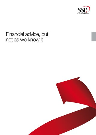 Financial advice, but not as we know it