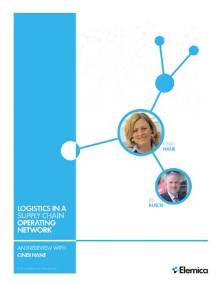 Logistics in a Supply Chain Operating Network