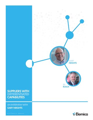 Suppliers with Differentiated Capabilities
