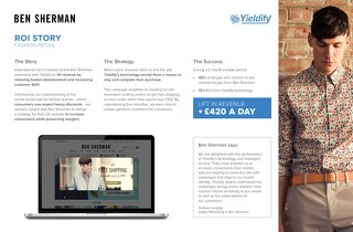 Yieldify case study - Ben Sherman