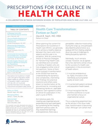 Prescriptions for Excellence_Issue 24