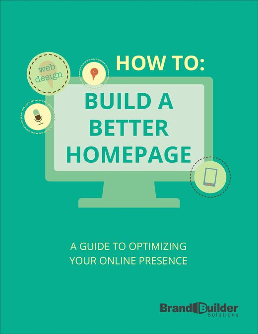 How To Build a Better Homepage