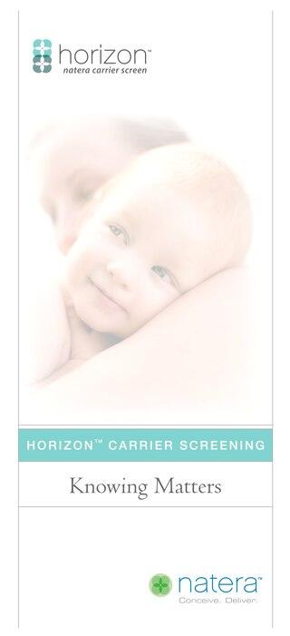 Horizon Patient Brochure
