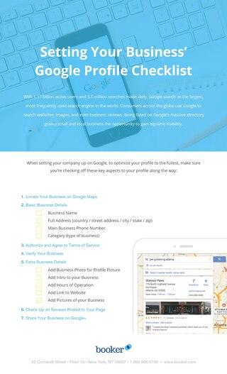Setting Your Business' Google Profile Checklist
