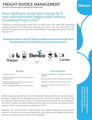 Freight Invoice Management