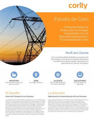 Estudio de caso de Solar Turbines