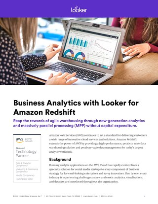 Data Analytics on AWS Redshift Database