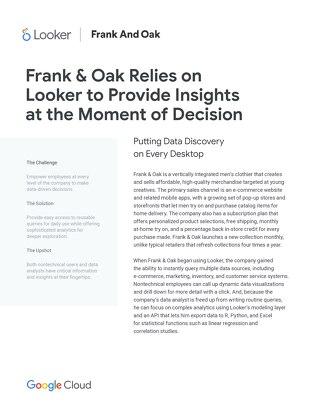 Case Study: Frank & Oak