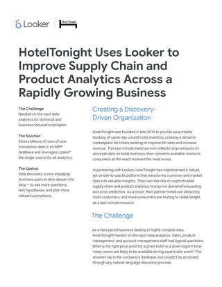 Case Study: HotelTonight