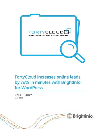 BrightInfo: FortyCloud Case Study