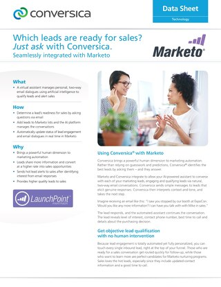 Marketo Integration Lead Engagement