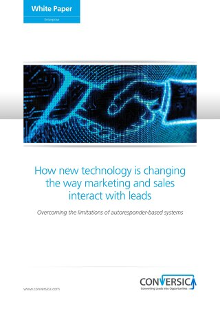 White Paper: How New Technology is Changing the Way Marketing and Sales Interact with Leads