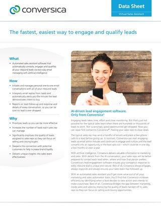 Datasheet - Lead Engagement Software