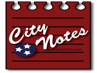 September 2015 City Notes