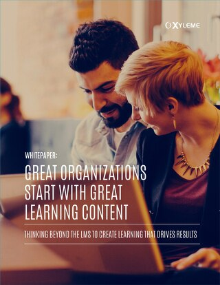 Great Organizations Start with Great Learning Content