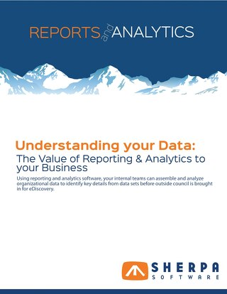 Understanding your Data- The Value of Reporting and Analytics to your Business