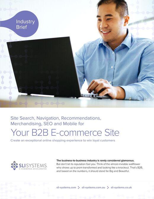 B2B E-commerce: Win loyal business customers