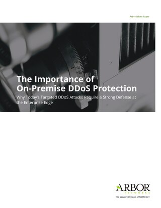 Importance of On-Premise DDoS Protection