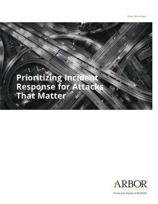 Prioritizing Incident Response