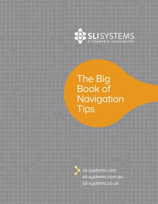 The Big Book of Navigation Tips