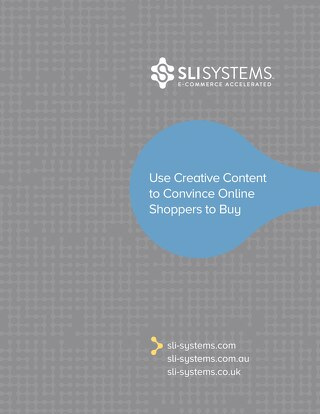 Use Creative Content to Convince Online Shoppers to Buy