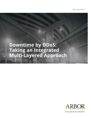 Downtime by DDoS: Taking an Integrated Multi-Layered Approach