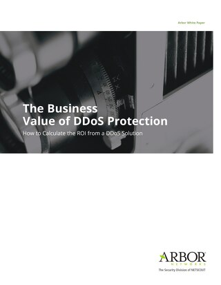 Business Value of DDoS Protection