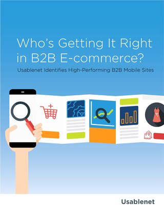 Who's Getting it Right in B2B E-Commerce?