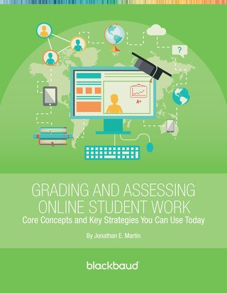 Grading and Assessing Online Student Work by Jonathan Martin