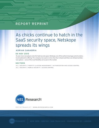451 Research Impact Report - Netskope