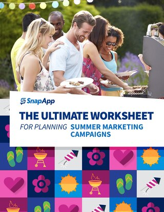 The Ulimate Worksheet For Planning Summer Marketing Campaigns