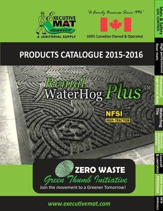FALL & WINTER 2015 -2016 CATALOGUE -NOVEMBER 16, 2015