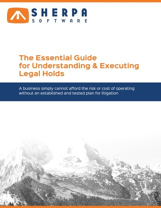 The Essential Guide to Understanding and Executing Legal Holds