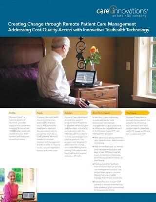 Humana Creates Change Through Remote Patient Management